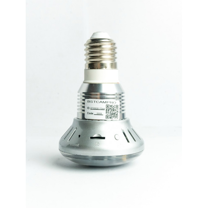 Hidden camera light bulb low priced free shipping shed some light on your security concerns with this 720p 10mp functioning lightbulb camcorder this 3 watt unit has a 90 degree viewing angle and can be aloadofball Images